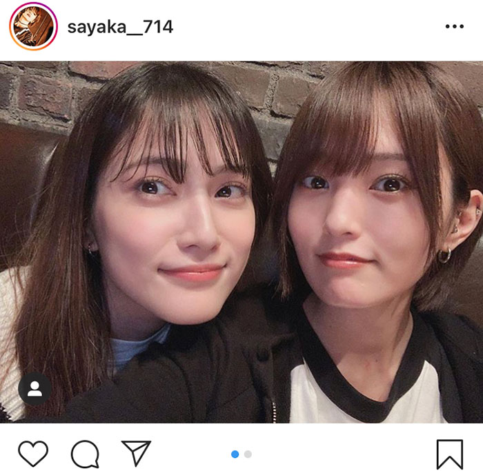 山本彩、AKB48 入山杏奈との美人ショット公開!「二人とも可愛い」「エモすぎる」