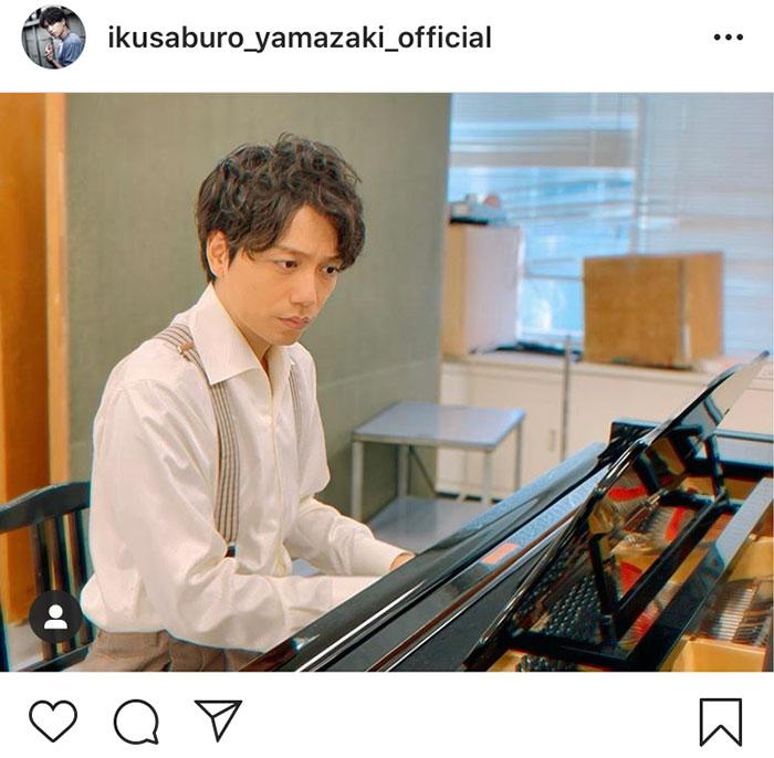 山崎育三郎が奏でるピアノ練習風景に「キュン」!「春が待ち遠しい」