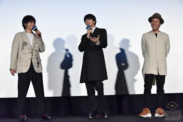 新田真剣佑・北村匠海が『サヨナラまでの30分』公開御礼舞台挨拶に登壇!
