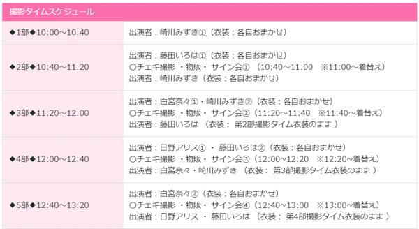 【ミスFLASH2020】藤田いろは・崎川みずき・白宮奈々・日野アリスのバレンタインチョコお渡し会&撮影会開催!