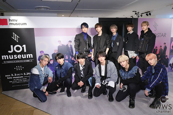 """ボーイズグループ""""JO1""""が渋谷modiで『JO1 museum ~「PRODUCE 101 JAPAN」デビューまでの軌跡~』を訪問!3月4日(水)『PROTOSTAR』でデビュー決定!"""