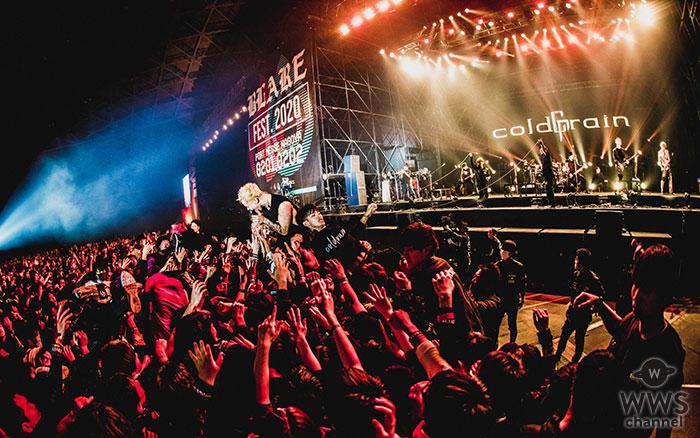 coldrain、2月開催の初主催フェス『BLARE FEST. 2020』がメ〜テレ「BomberE」で拡大版で2週連続オンエア!