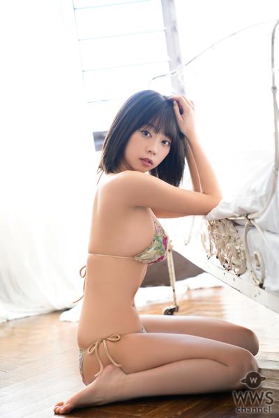 青山ひかる、「ヤングチャンピオン」巻末グラビアのアザーカット公開!