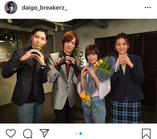 DAIGO、eスポーツ番組卒業の生駒里奈へエール「夢を追いかける生駒ちゃんをこれからも応援します!」