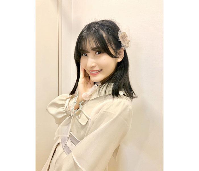 AKB48 福岡聖菜、5作ぶりの選抜復帰!『失恋、ありがとう』オフショット公開に「楽しくて笑顔溢れた撮影だったなぁ」
