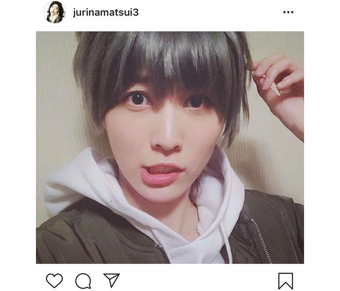 SKE48 松井珠理奈が誕生日にイケメン男装写真公開!「イケメンすぎるわー」「お茶目な珠理奈」