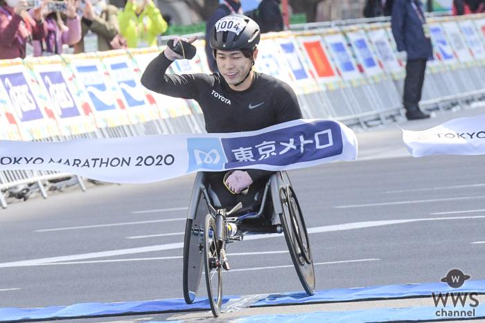 鈴木朋樹選手、東京マラソン・車いす部門大会新記録で優勝