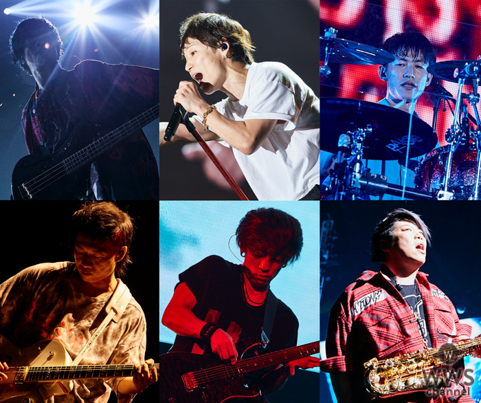 UVERworld、東京ドーム公演をいよいよWOWOWで放送!興奮必至のライブダイジェスト映像も公開