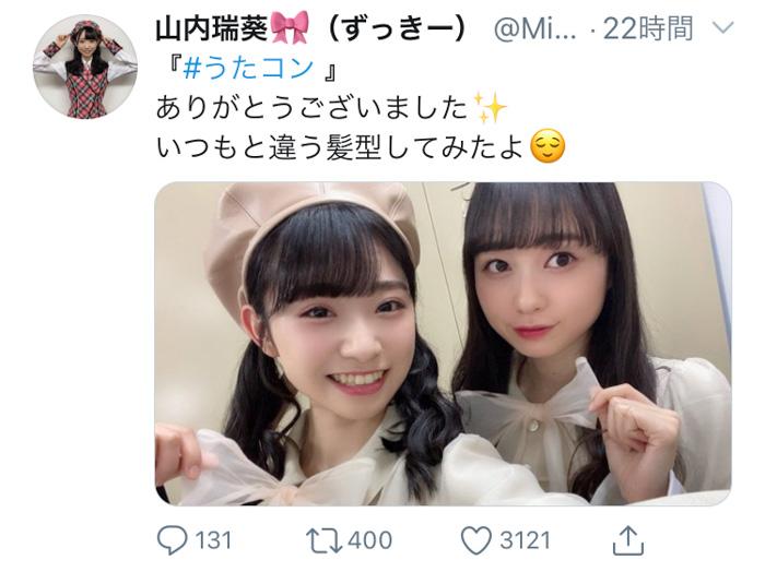 AKB48 山内瑞葵センター『失恋、ありがとう』本日リリース!売り上げミリオンも達成