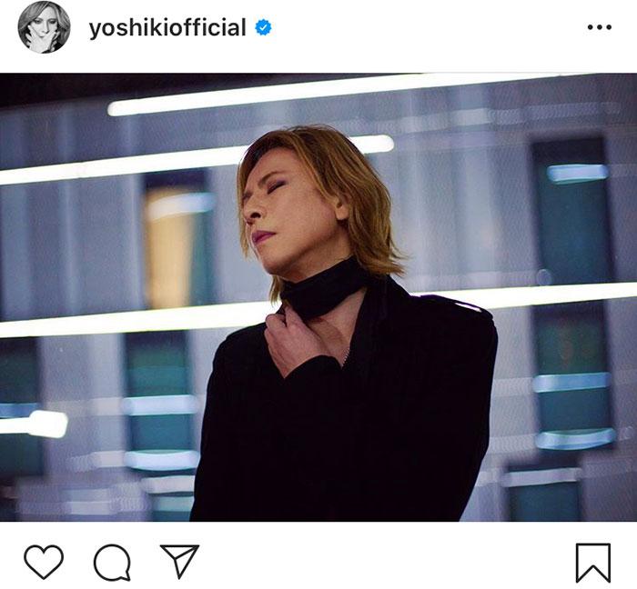 X JAPAN YOSHIKI、ファンへ向けて想いを届ける「みんなの健康と安全を祈っています」