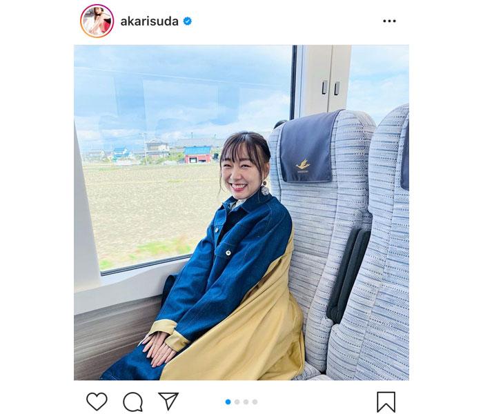 近鉄「ひのとり」デビュー!SKE48 須田亜香里がいち早く試乗「物凄く快適な旅でした」