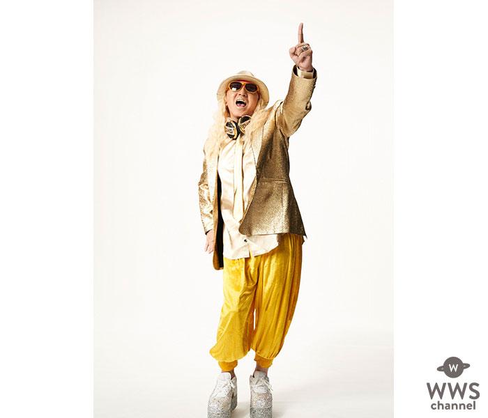 DJ KOOが金ピカ衣装でエールを送る!「今こそ日本がOne Teamに」