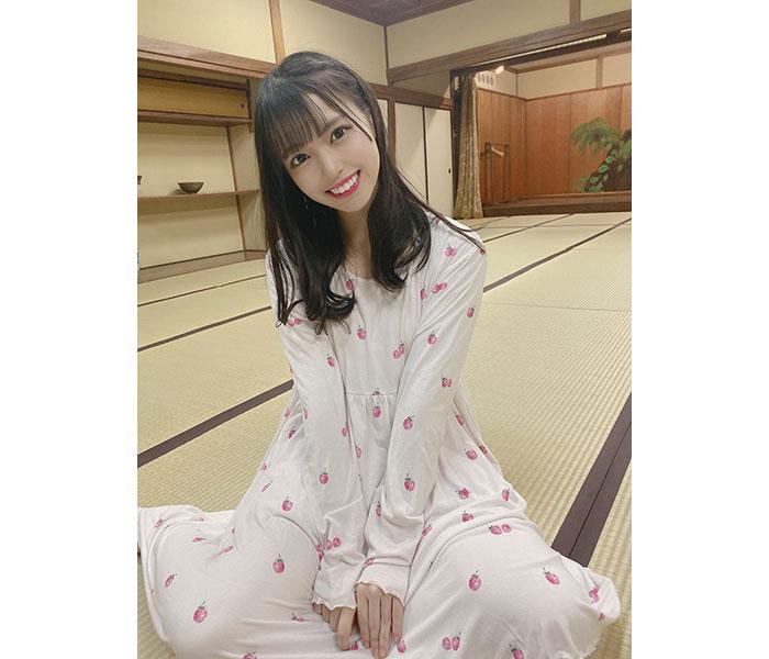 STU48 岩田陽菜のリアルパジャマ姿に大反響!「これは天使!」「癒される」「テレワークの背景にします」