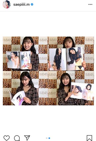 NMB48 村瀬紗英、1st写真集発売に喜び「感想、メッセージがたくさん届いていて携帯が手放せません!」