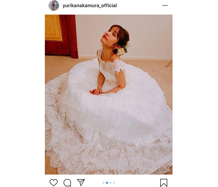中村ゆりか、純白のウエディングドレス写真を公開!「美しい」「いつの写真ですか??」「ギルティの1コマ!?」など憶測の声も