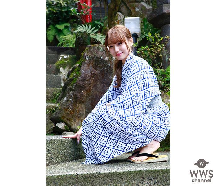 「MFGエンジェルス」鈴木ユリアが湯けむり浴衣ショットを大公開!