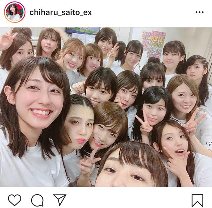 テレビ朝日・斎藤ちはる、白石麻衣の卒業延期に胸中を綴る「今は心を合わせて頑張りましょう」