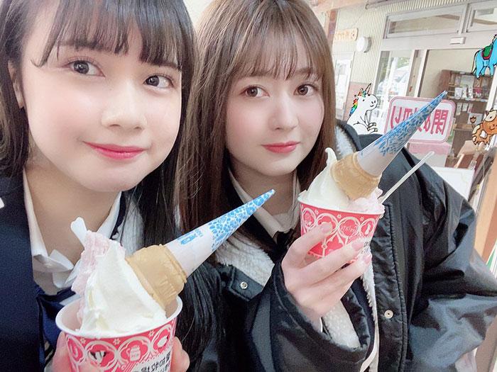 SKE48 江籠裕奈と田辺美月が牧場から動物たちの癒しと歌をお届け!