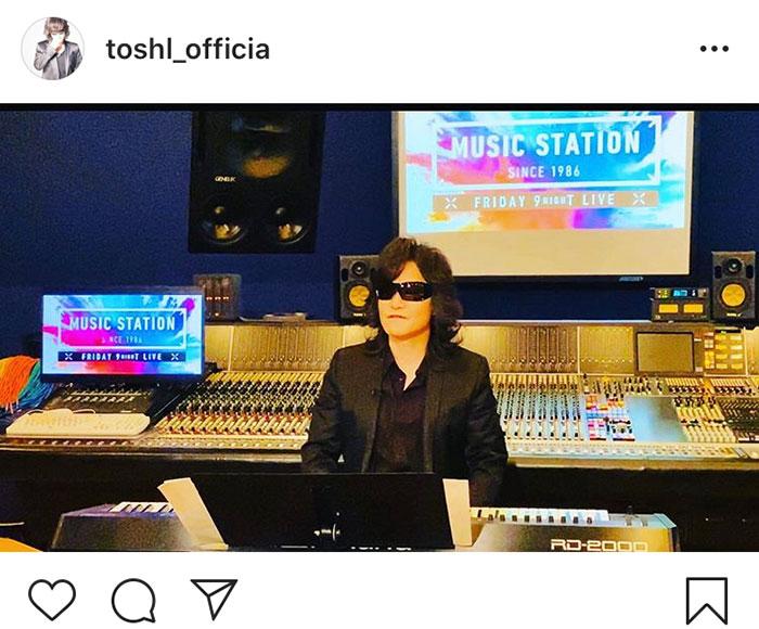 Toshl、視聴者が選ぶ『Mステ』披露曲、候補の3曲が決定!「究極の選択で迷ってしまいます」「Mステ楽しみにしています」と期待の声
