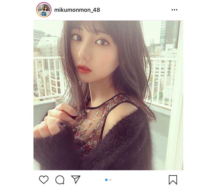 HKT48 田中美久の「大人みくりん」覚醒ショットに大反響!「セクシーがあふれてる」「雰囲気あって本当に綺麗」