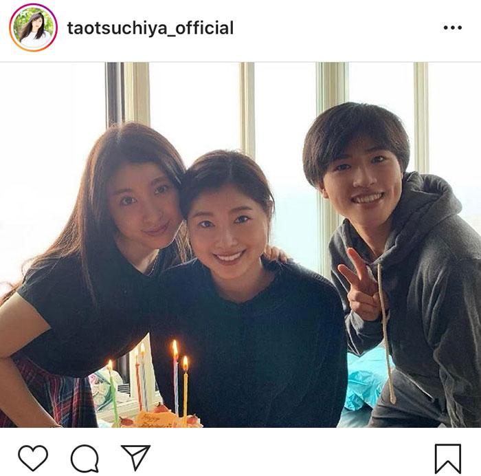 土屋太鳳、姉・炎伽、弟・神葉との3姉弟ショットを公開!「みんな顔似てる」「綺麗な3人で羨ましい」