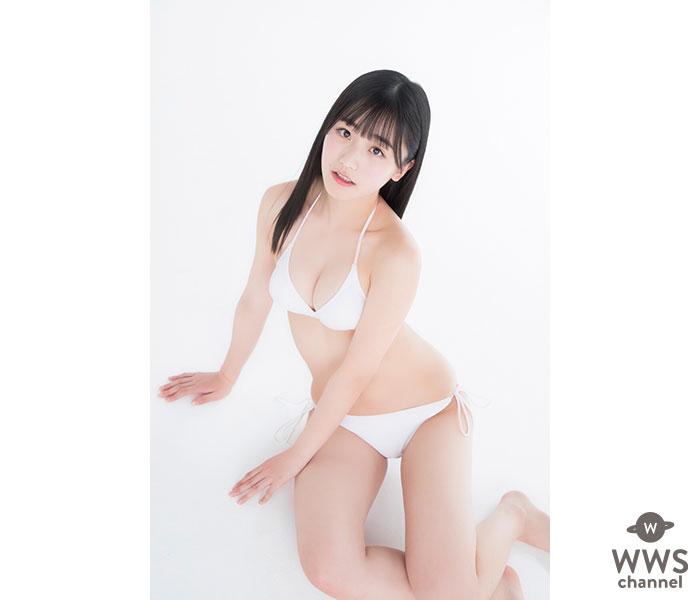 """""""正統派美少女""""蓼沼優衣の初水着ショットが解禁!<制コレ'20>"""