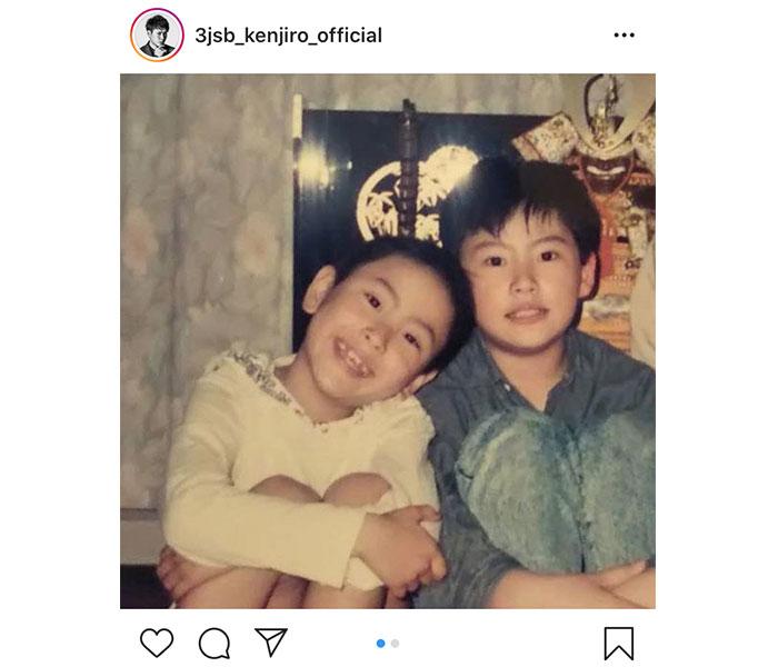 三代目JSB・山下健二郎が子供時代の写真を公開「そのまんまだなあ」「お顔が変わらず綺麗」