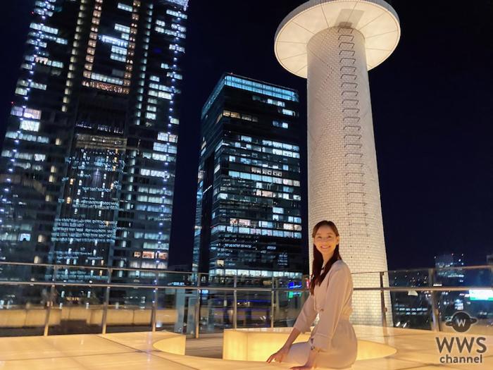 新木優子、綺麗な夜景に癒されるオフショットにファンもうっとり「キレイやなぁ。。」「ホントお美しい・・・」