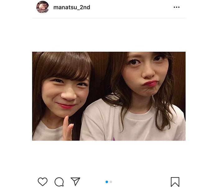 乃木坂46 秋元真夏、白石麻衣との東京ドーム2ショットに「秋石姉妹可愛すぎ」と反響
