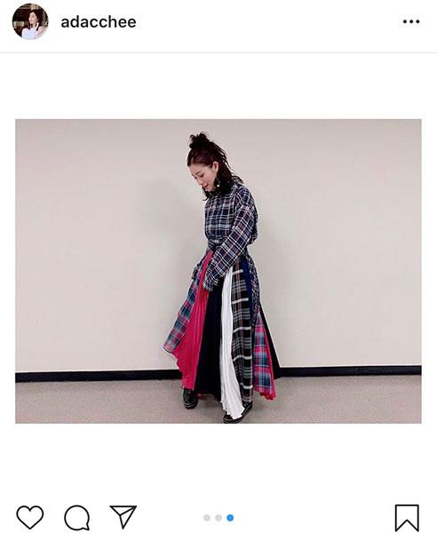 足立梨花、鈴木雅之との2ショット公開!「ツーショットいい感じ」「衣装かわいい」