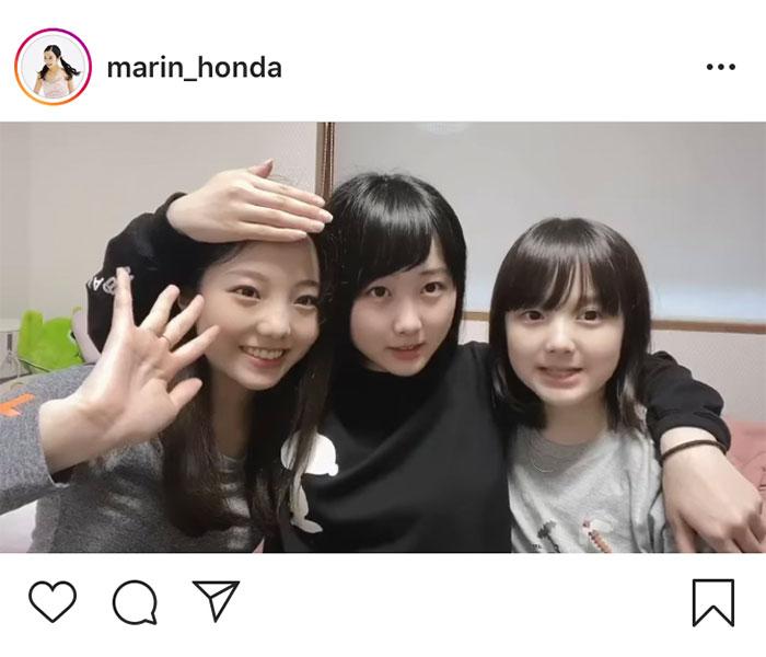本田真凜、「母の日」に姉妹でメッセージを投稿「大好きです」