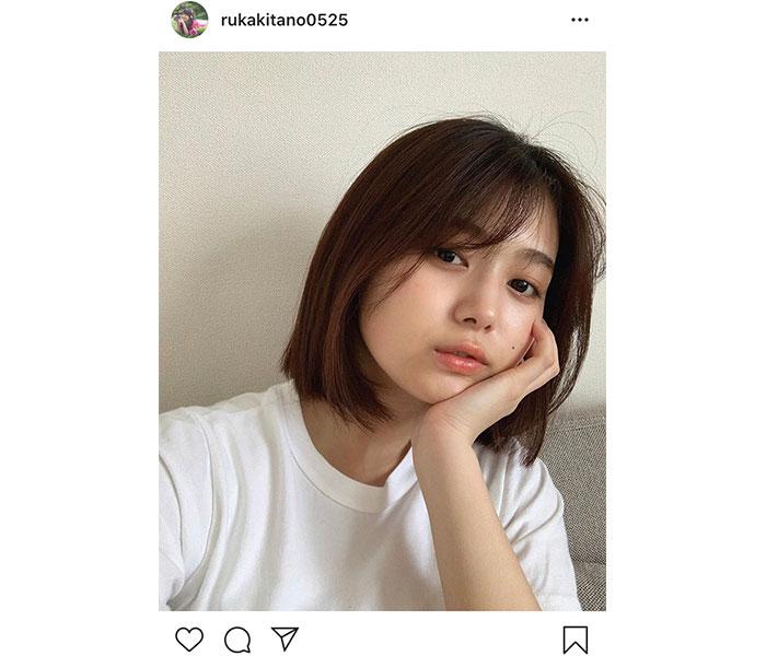 SKE48 北野瑠華、大人ビューティーなナチュラル美麗ショット公開!「綺麗で本当に可愛すぎる」