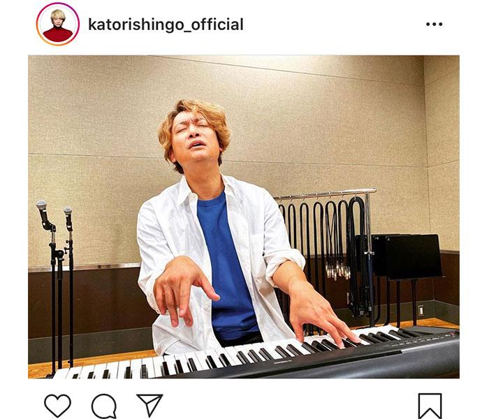 香取慎吾、キーボードの練習に臨む熱い想い「いくつになっても挑戦し続けたい」