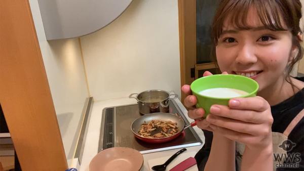 AKB48が牛乳を使った料理に挑戦!第一弾はカルボナーラに挑戦<OUCプロジェクト>