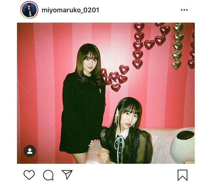 SKE48 野村実代、姉・野村奈央との最強姉妹ショットを披露「存在がインスタ映え」と反響