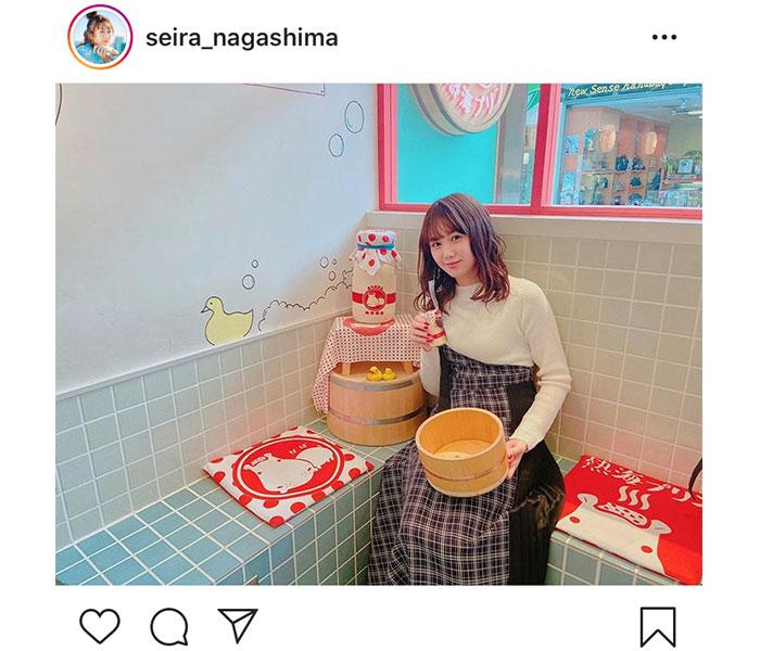永島聖羅、26歳の誕生日にファンに感謝 コメント「全部みてるよ〜!!!」