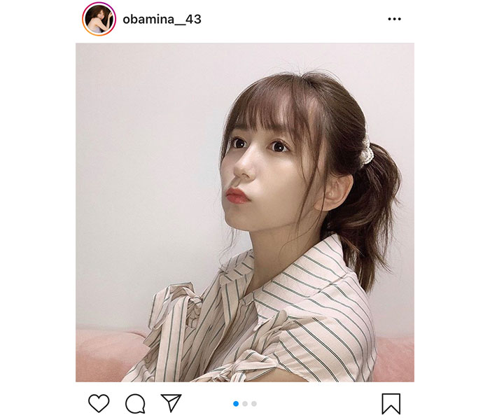 SKE48 大場美奈のポニーテール姿に「世界一可愛い」「ポニテは永遠の可愛さ」と反響