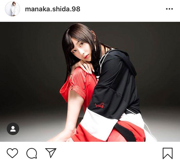 元欅坂46 志田愛佳、UVERworld TAKUYA∞撮影のファッションフォトを公開「神々しい」「コラボに涙」「羨ましいです」
