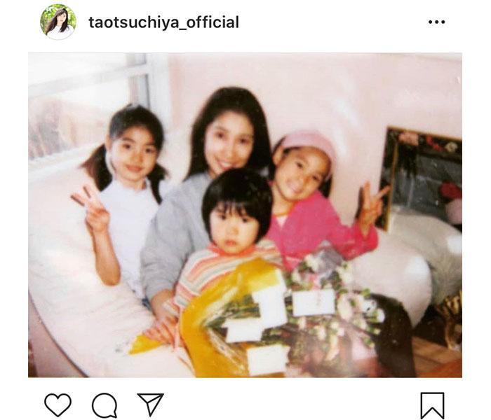 土屋太鳳、お母さんにそっくりな「母の日」家族写真を公開