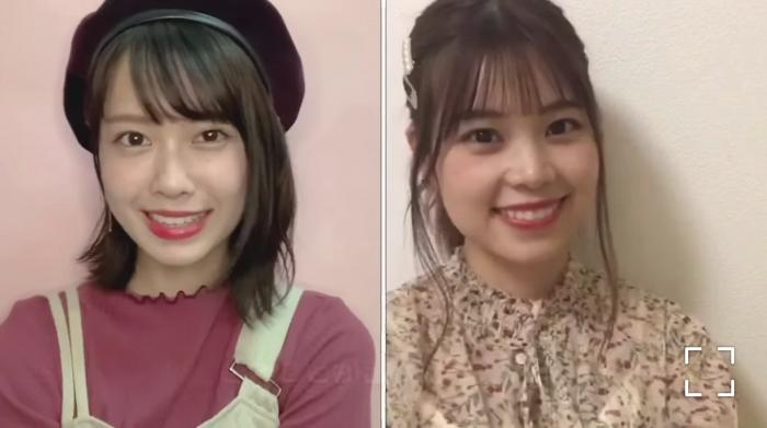 AKB48 小田えりな&吉川七瀬、自作のリモートMVで会えなかった春を届ける