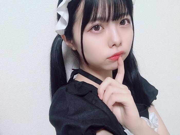 SKE48 荒野姫楓、メイド風ファッションでお出迎え!「これは優勝」「秒で帰宅しました」
