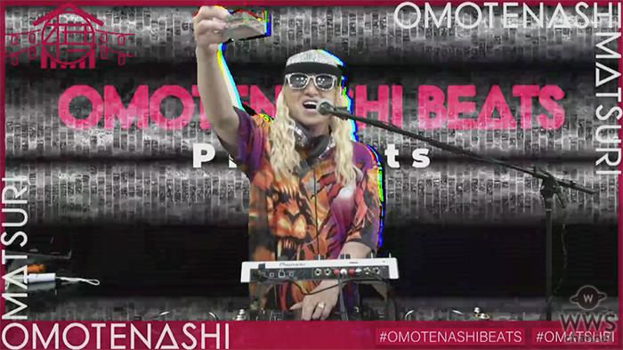 DJ KOO、DJ小宮有紗ら出演のパーティーイベント「OMOTENASHI MATSURI」が開催