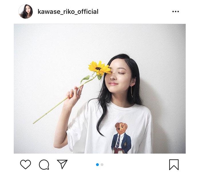 川瀬莉子、夏を待ち望む向日葵2ショットに反響!「ひまわりの季節だね」「見るだけで元気もらえるよね」