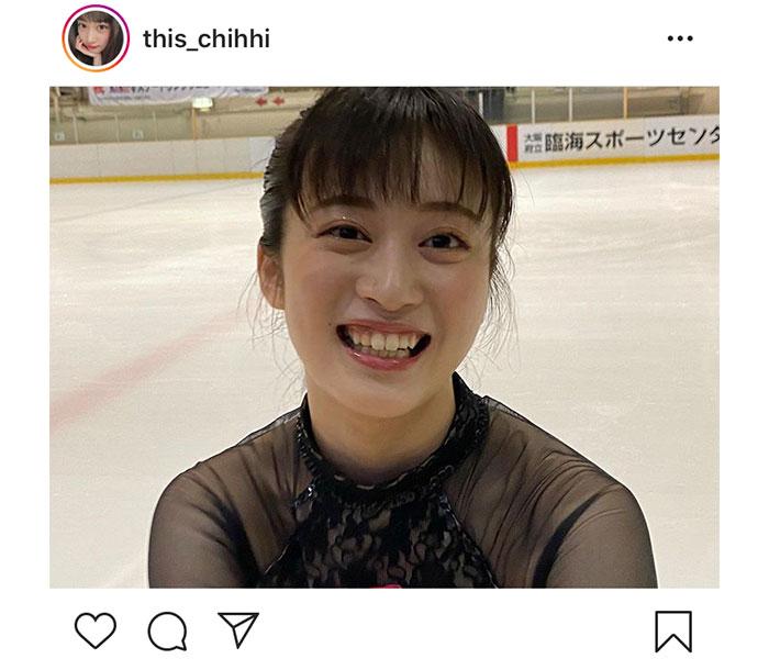 NMB48 川上千尋のスケート動画が話題「久しぶりだったので目が回りました(笑)」