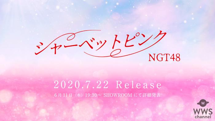 NGT48、1年9ヶ月ぶりのシングルが7月にリリース決定!