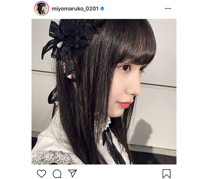 SKE48 野村実代、ゴスロリなインスタ新アイコンを公開!「素敵です」「まるで人形みたい!」と反響