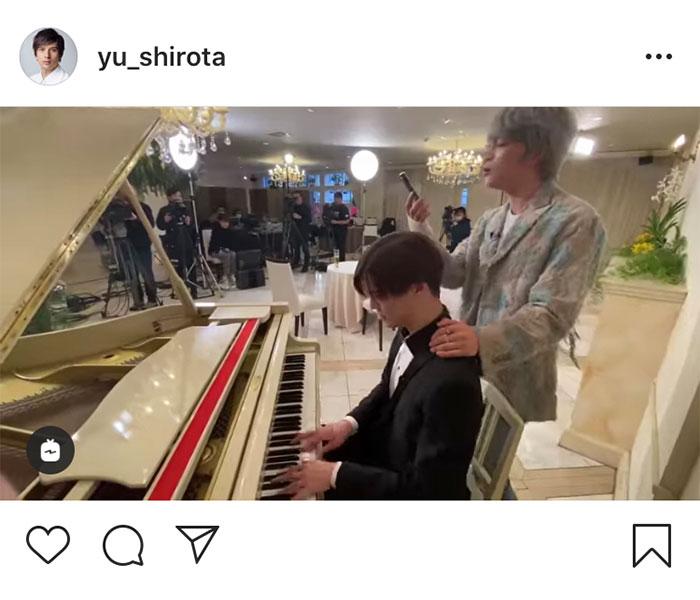 城田優、Matt&ジェジュンと豪華共演の『I LOVE YOU』歌唱動画を公開「すごいコラボで感動しました」