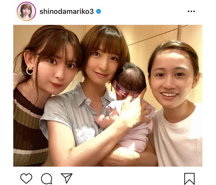 篠田麻里子、前田敦子&小嶋陽菜と奇跡の再会3ショットに歓喜「え、なにこの神メン」「素敵な偶然ですね」