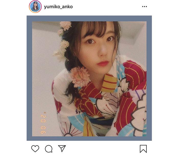 STU48 瀧野由美子、夏を先取りの浴衣ショットを公開!「貴重な浴衣」「惚れ惚れする」