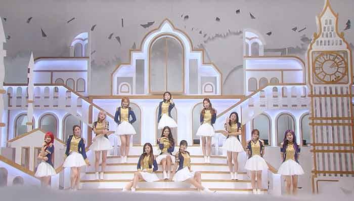 日韓グローバルグループIZ*ONEが『CDTVライブ!ライブ!』のために撮影した 新曲「幻想童話(Secret Story of the Swan)」日本語バージョンを初披露!
